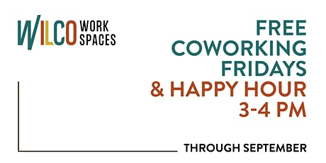 FREE Coworking Friday +Happy Hour tickets