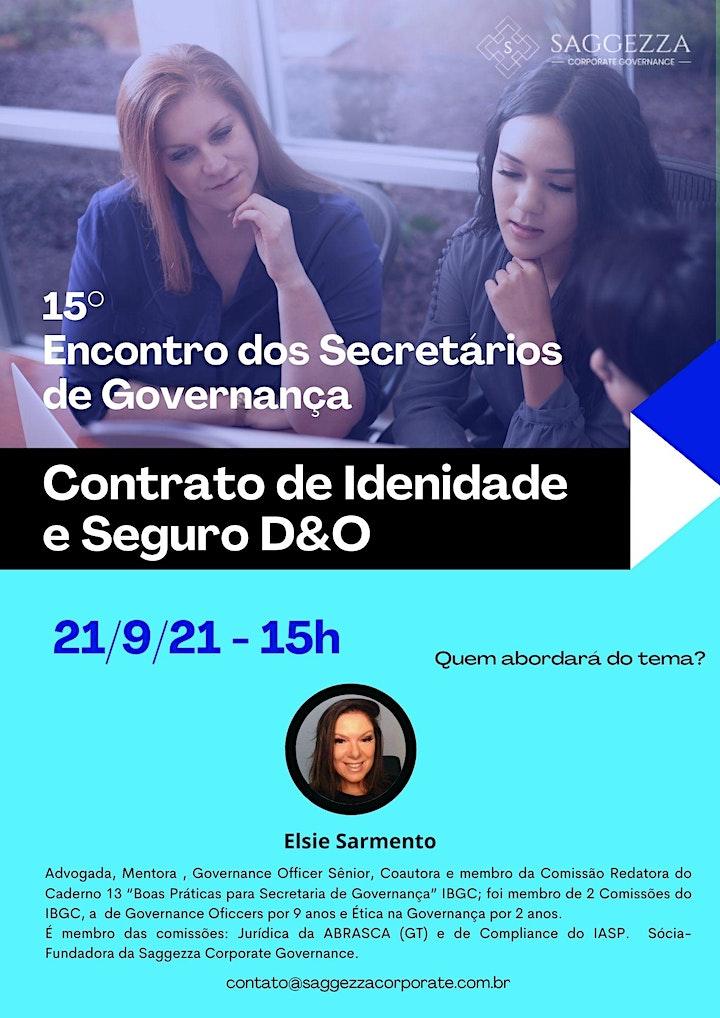 Imagem do evento 15° ENCONTRO DOS SECRETÁRIOS DE GOVERNANÇA
