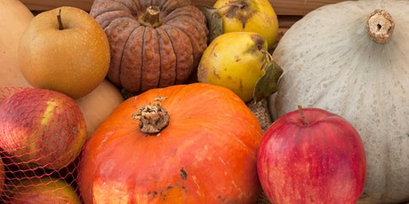 VIRTUAL:  Cooking Demo - End-of-Summer Bounty at Farmers' Markets tickets