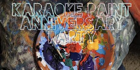 Karaoke Paint Anniversary Party tickets
