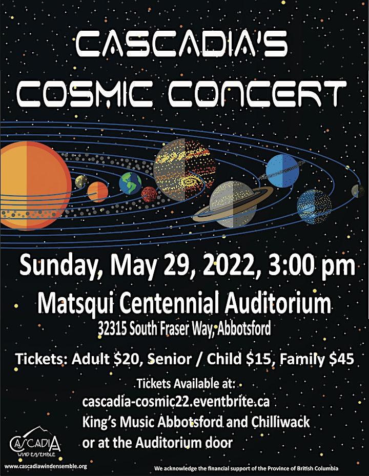Cascadia's Cosmic Concert image
