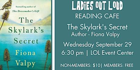 LOL Reading Cafe - The Skylark's Secret tickets