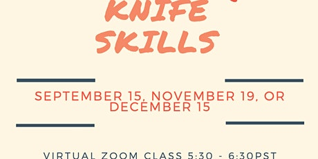 MealticketSF's Private Live Cooking Class  - Knife Skills tickets