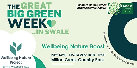 Wellbeing Nature Boost tickets
