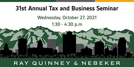 2021 RQN Tax Seminar tickets