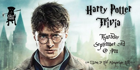 Harry Potter Movies Trivia at The Salt Yard West tickets
