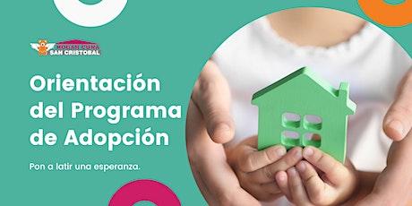 Orientación del Programa de Adopción entradas