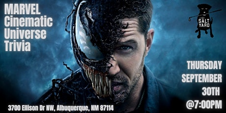 Marvel Cinematic Universe Trivia at Salt Yard West tickets
