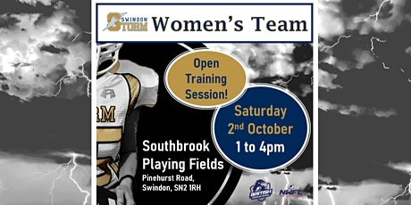Play American Football - Swindon Storm Women's Team Open Training Sessions tickets