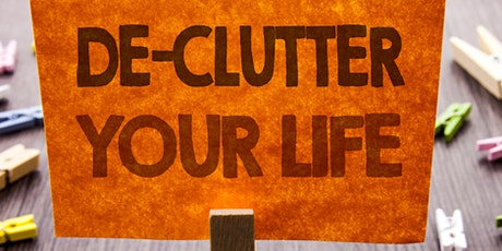 Decluttering - What to do with a LIFETIME of Treasures. tickets