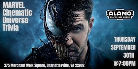 Marvel Cinematic Universe Trivia at Alamo Drafthouse Cinema Charlottesville tickets