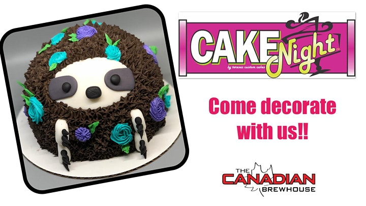 CakeNight - Ellerslie- Sloth Cake image