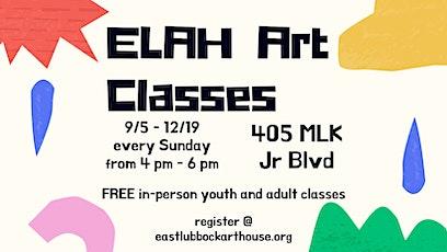 ELAH Art Classes (FREE CLASSES) tickets