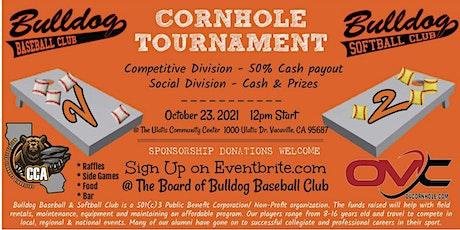 Bulldog Baseball/Softball Cornhole Tournament tickets