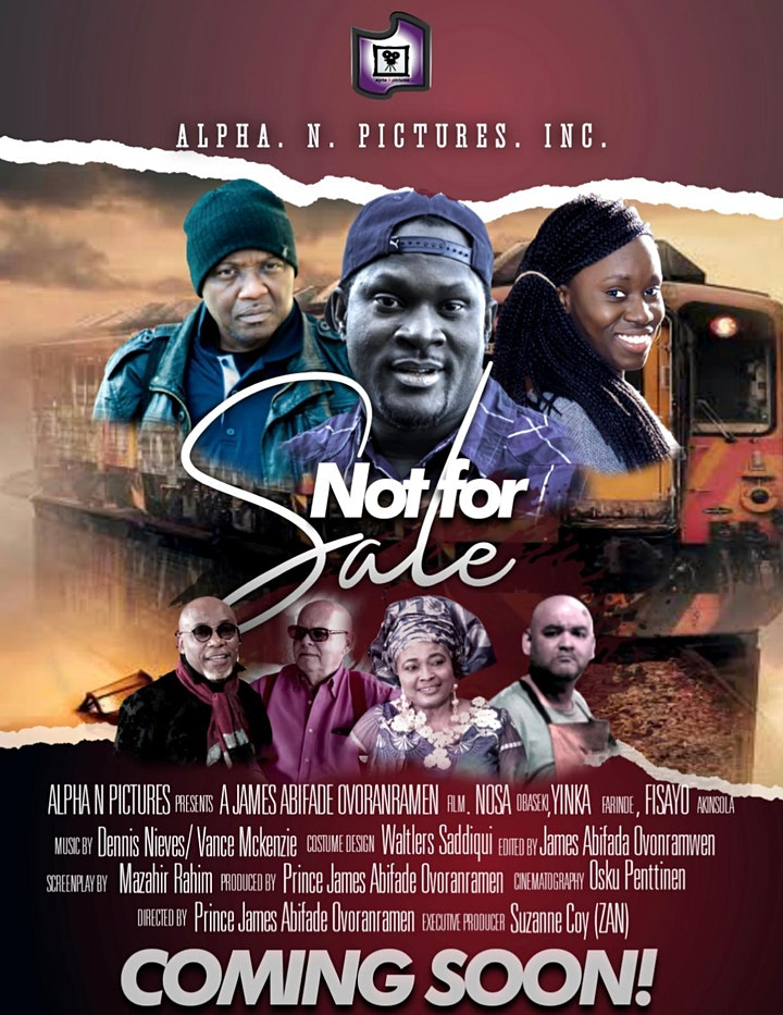 Not For Sale Movie premeire image