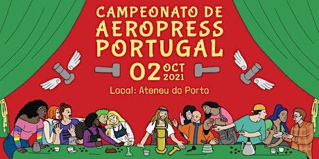 Portugal AeroPress Championship 2021 bilhetes