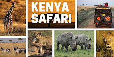 Kenya Safari Preview Night Tickets
