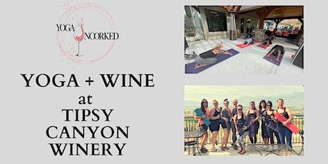 Yoga + Wine at Tipsy Canyon Winery tickets