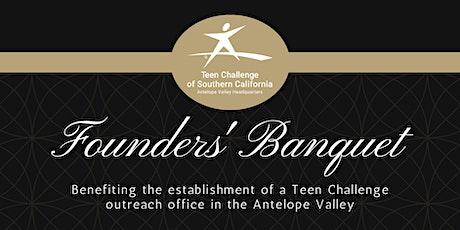 Antelope Valley Teen Challenge Founders Banquet tickets