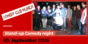 Comedy Club Munich - Stand-up Comedy Night - 10....