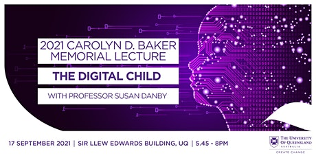 2021 Carolyn D. Baker Annual Memorial Lecture tickets