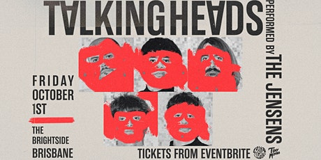 Late Nights - Talking Heads (Performed by The Jensens) tickets