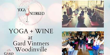 Yoga + Wine at Gard Vintners Woodinville tickets