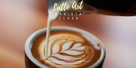 Latte Art & Barista Class 1 tickets