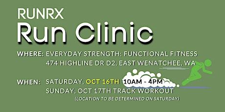 RunRX Clinic 2021 (Wenatchee, WA) tickets
