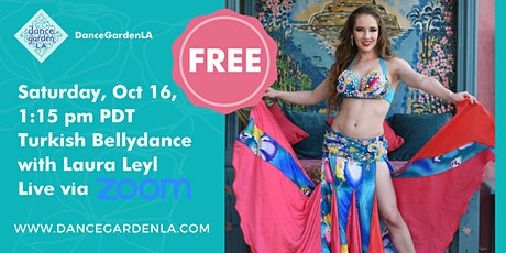 Free Turkish Bellydance Class with Laura tickets