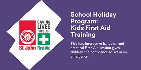 Kids First Aid Training - Ages 8-10 Years @ Burnie Library tickets