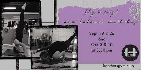 Yoga Arm Balance Workshop tickets