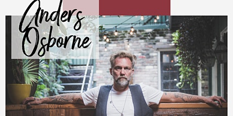 Anders Osborne- Live at Five and Fairhope Music Festival tickets