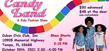 Candyland kids fashion show tickets