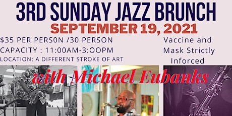 Copy of Copy of 3rd Sunday Jazz  Art in this space tickets
