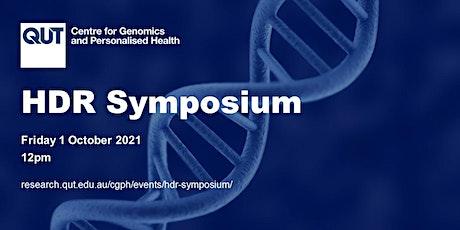 HDR Symposium tickets