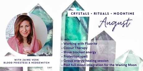 Crystals • Rituals • Moontime tickets