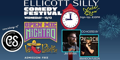 Ellicott Silly Comedy Festival presents Church of Satire  Open Mic Nightro tickets