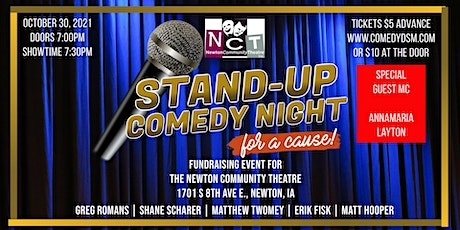 Comedy DSM Presents...Stand-Up Comedy Night For a Cause! tickets