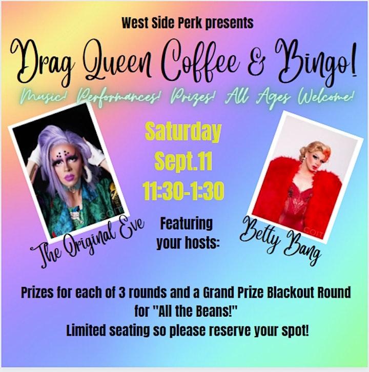 Drag Queen Coffee and Bingo image