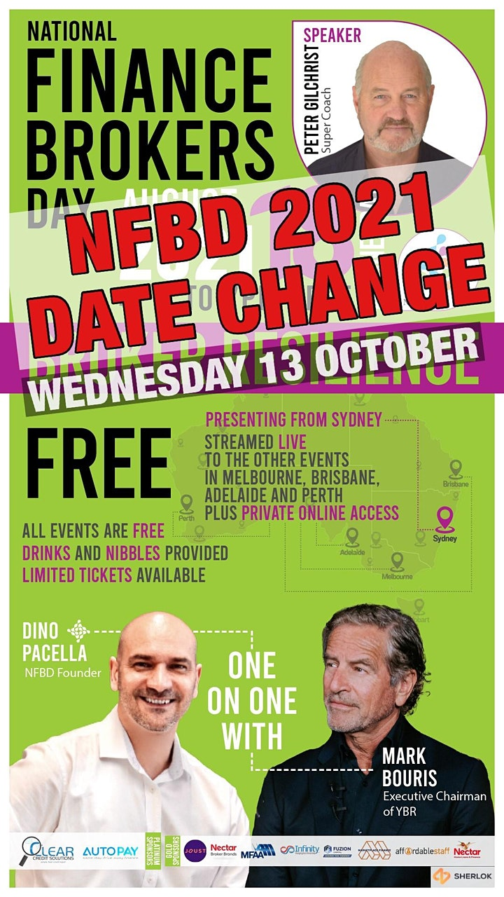 National Finance Brokers Day - MELBOURNE (Moved to Virtual Event) image