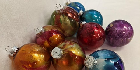 Holiday Special Alcohol Inks Workshops Ornaments tickets