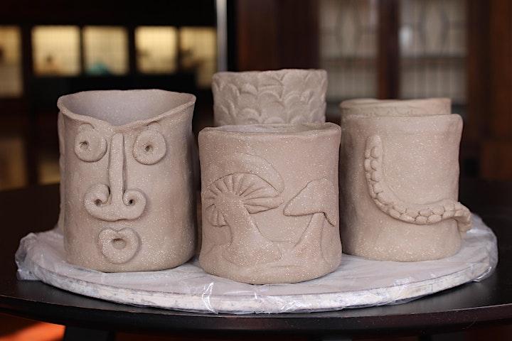 Make a Spooky Lantern/Oil Burner   Pottery Workshop w/ Siriporn Falcon-Grey image