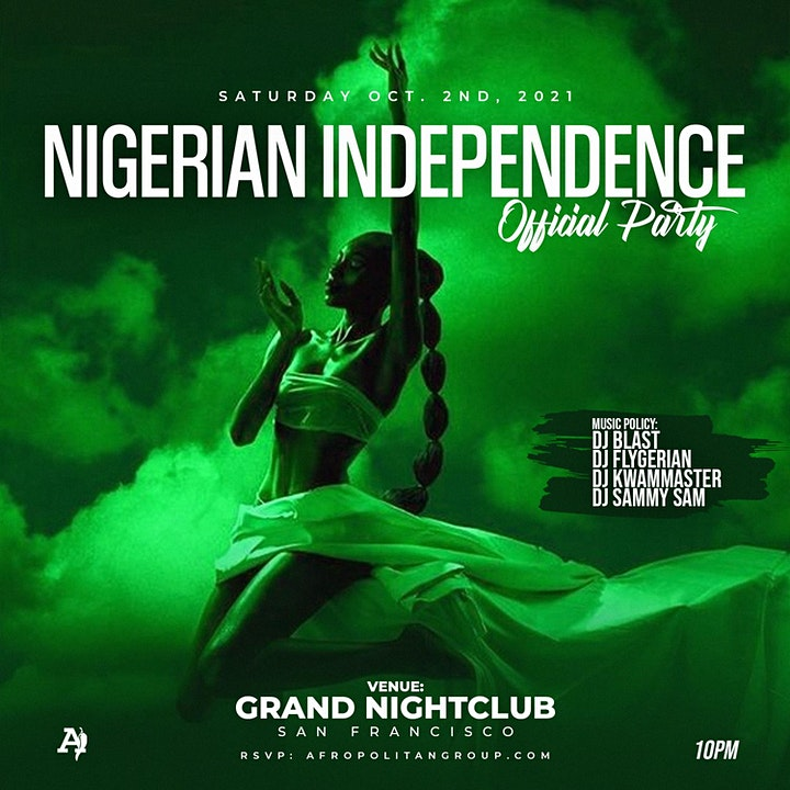 The Official Nigerian Independence Party  (San Francisco) image