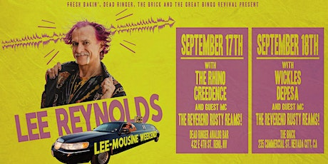 Lee Reynolds at The Brick tickets