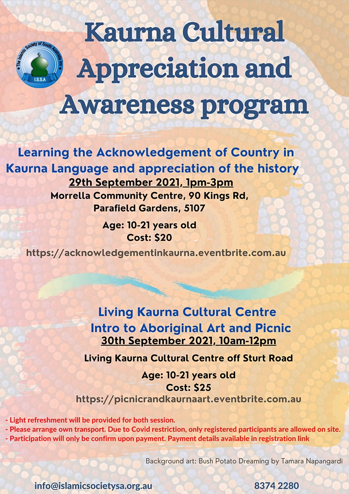 Living Kaurna Cultural Centre Picnic and Introduction to Kaurna Art image