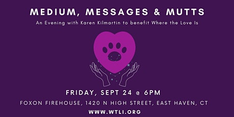 Medium, Messages and Mutts tickets