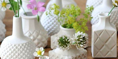 Make Your Own Flower Bud Vase | Pottery Workshop w/ Siriporn Falcon-Grey tickets