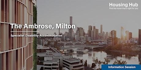 Summer Housing Milton SDA Apartments Information Session tickets