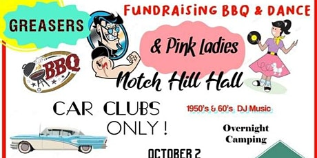 Greasers & the Pink Ladies Barbecue & Dance. tickets